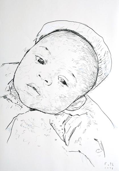 Jimi Hendrix als Kleinkind