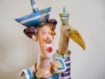 Marinero Ceramic sculpture