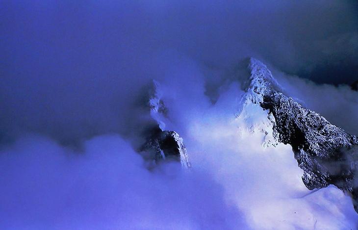 oben im Berg