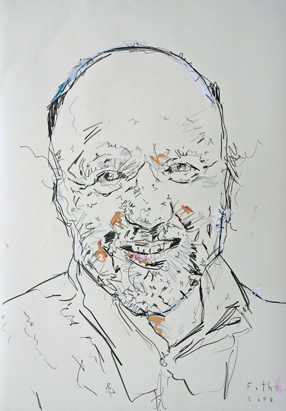Andrej Kurkow, lächelnd