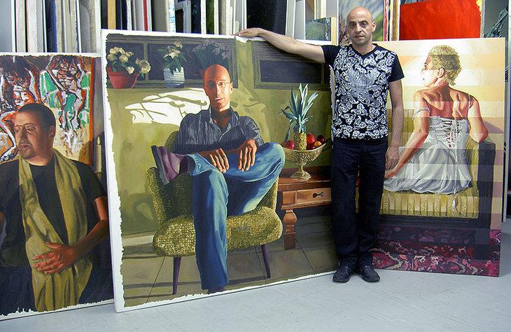 homosexuelle Malerin queere Kunst Gemälde lgbt Kunstwerke Künstl