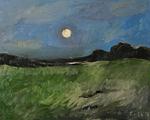 Die Nacht, Teich in der Ferne