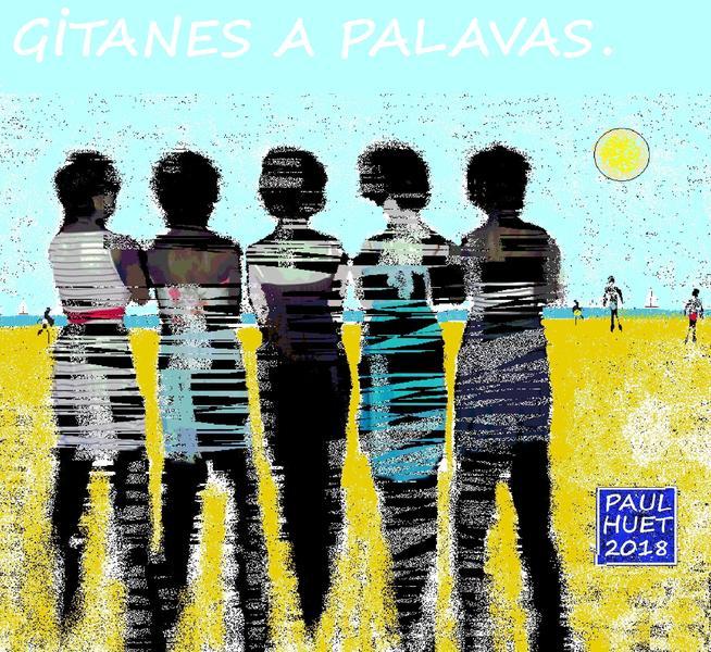 Gitanes à Palavas.
