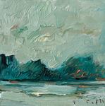 Der See, der Morgen, August I