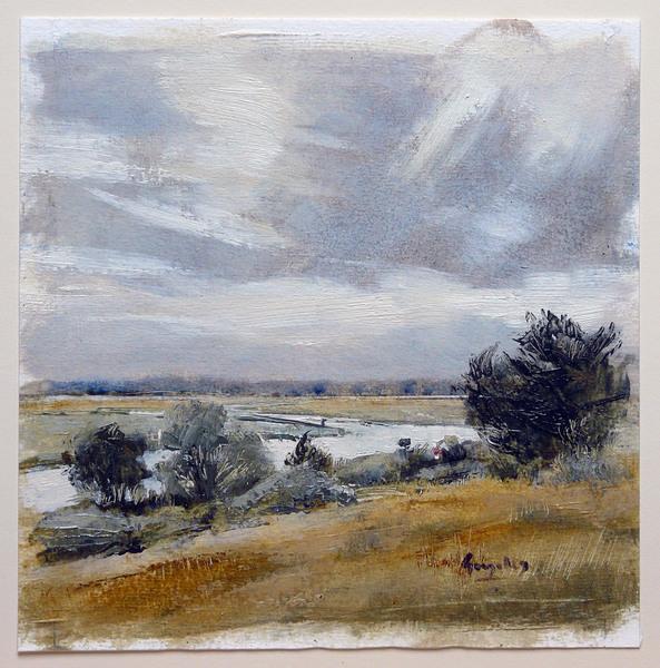 N German river view