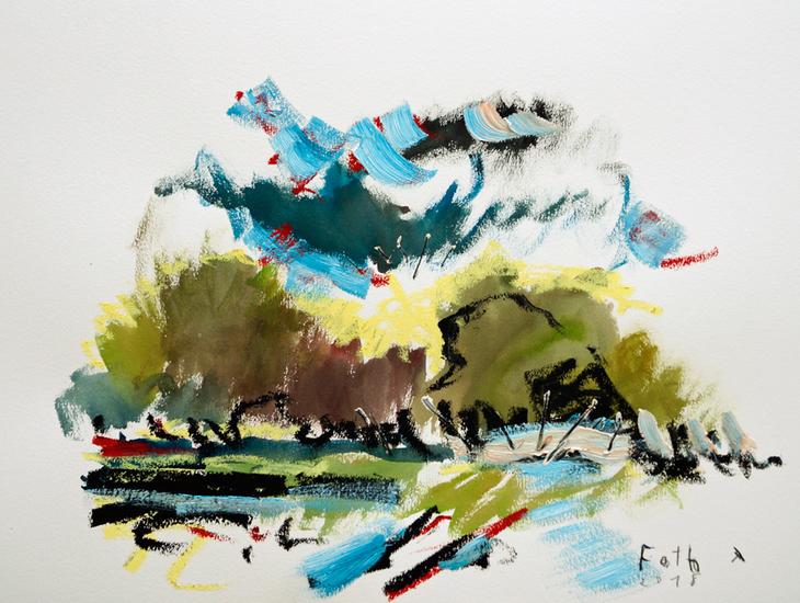 Landschaft Bederkesa 1-8