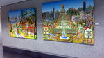 naive art gallery folk artworks paintings urban landscape artist