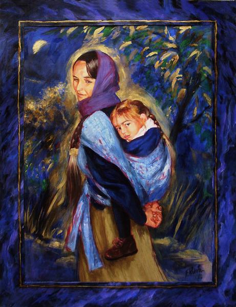 Blue Motherhood