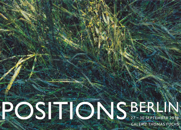 Positions Berlin, 27.-30.09.2018, Galerie Thomas Fuchs