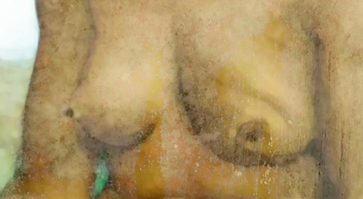 Nude study of Cara