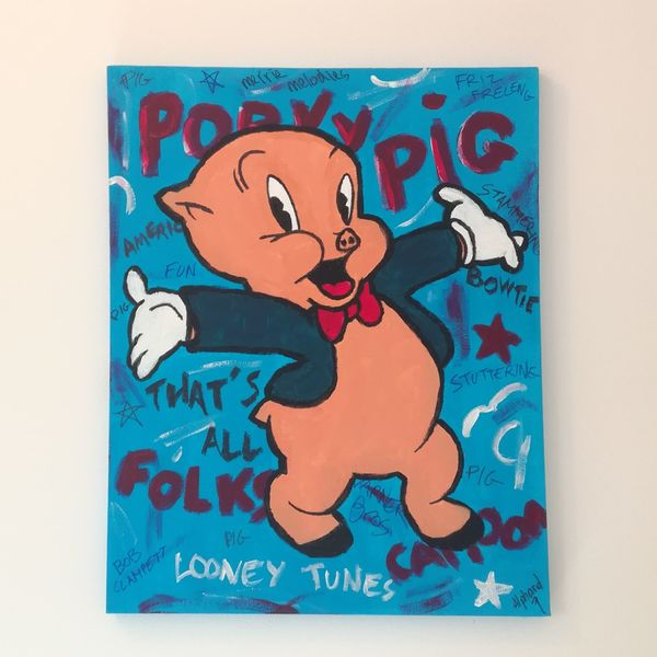 Porky Pig – CARTOON COLORS