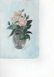 A vase of Pick Roses