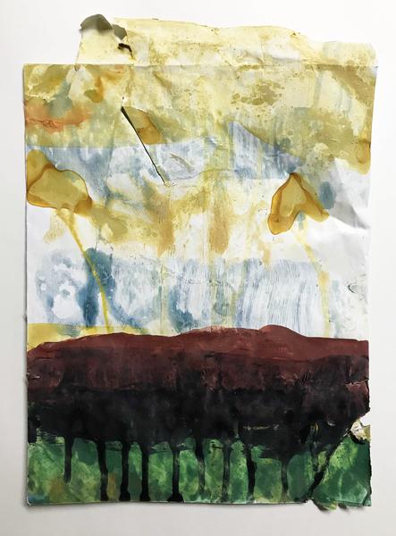 Untitled on envelope