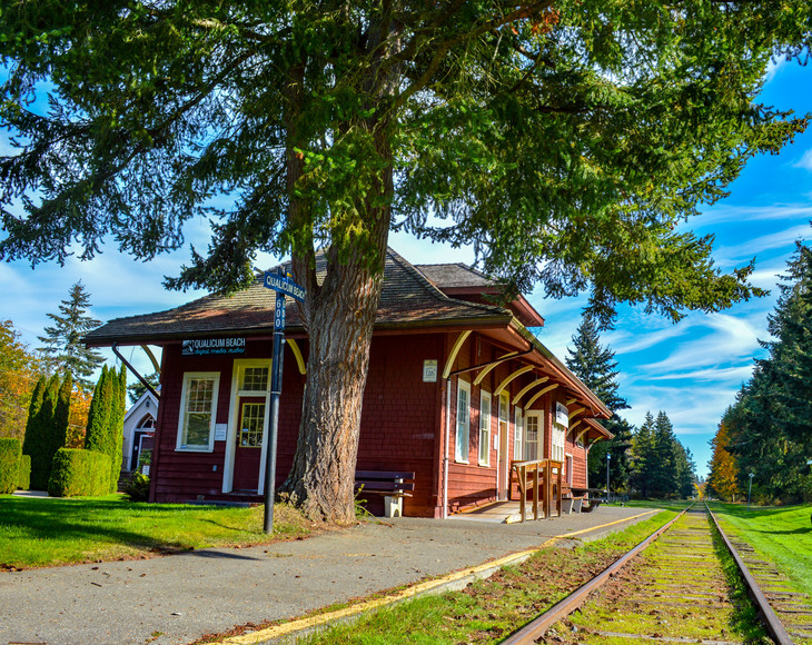 Qualicum Beach Rail Station