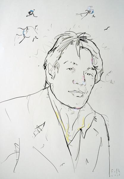 Mitch Ryder, der Künstler als junger Mann