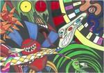 Psihijatrija trinaest Psychiatry thirteen, outsider artwork
