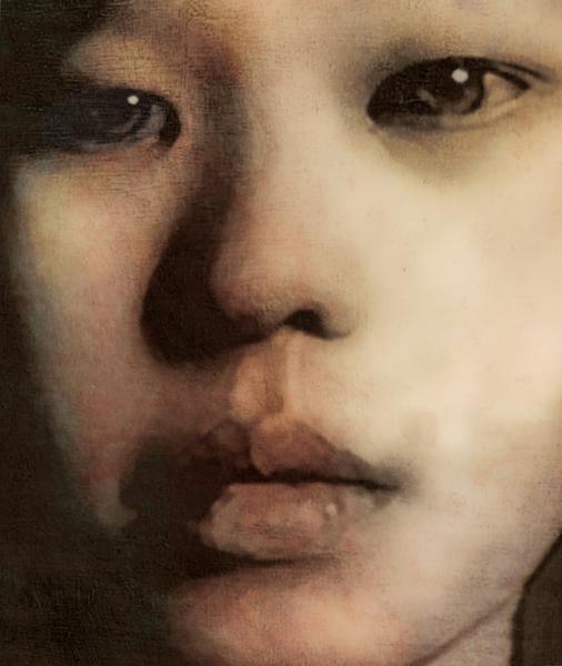 Miss Kayan, face study 2