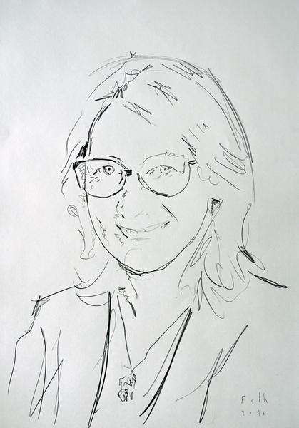 Porträtstudie Oktober I