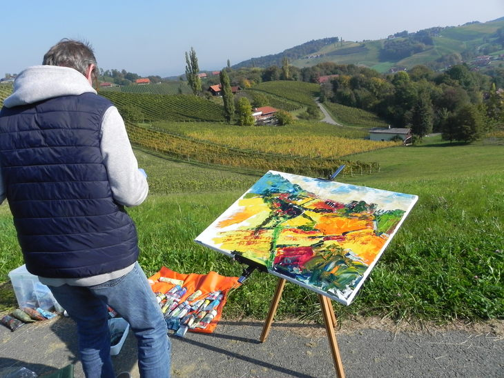 painting in gamlitz