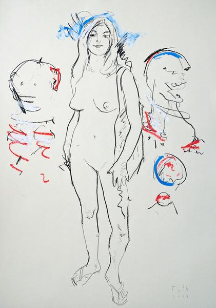 Nackte in Gesellschaft, November II