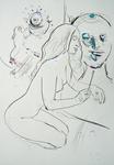 Im Atelier, November I