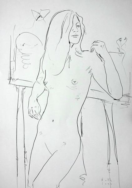 Im Atelier, November II