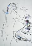 Im Atelier, November III