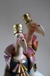 Eagles Ceramic sculpture