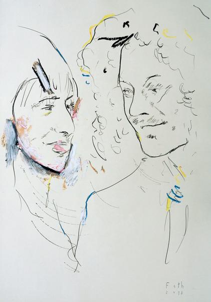 Susanne und Noel Redding