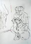 Selbst mit großem Hund