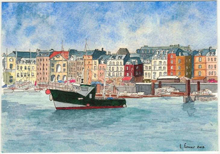 N°5 - Dieppe Port- 09