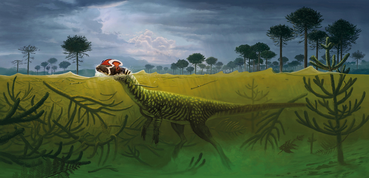 Dilophosaurus wetherilli: After The Storm