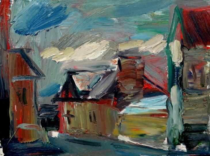 Bretonisches Dorf 2
