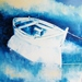 Boot in Blau