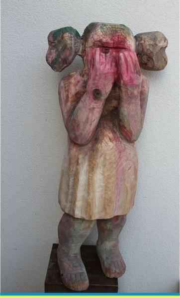 ... wooden sculpture