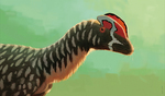 Dilophosaurus wetherilli portrait
