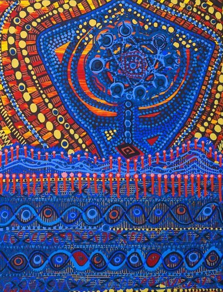 Israeli women artist painting and drawings