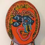painted wood acrylic artworks israel