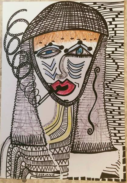 Mirit Ben-Nun Israeli artist paintings drawings gallery