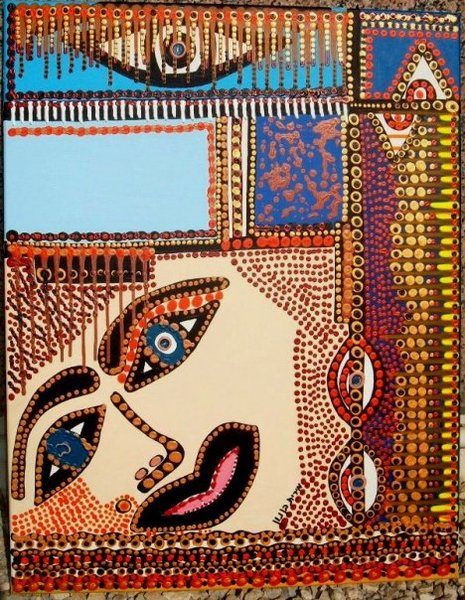 Woman artist Israeli painting and drawings gallery