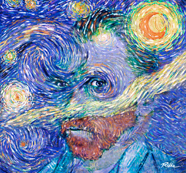 A homage to Vincent van Gogh