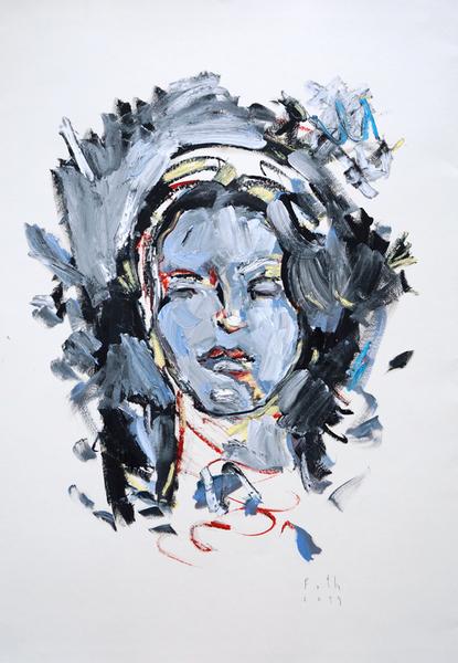 Maria von Magdala, von Depressionen umwölkt