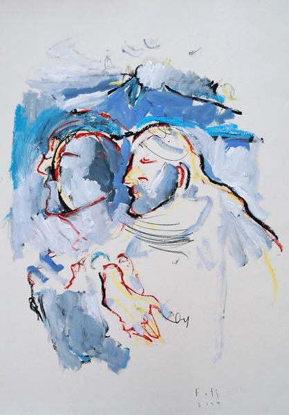Der Wettlauf der Jünger Petrus und Johannes zum Grab