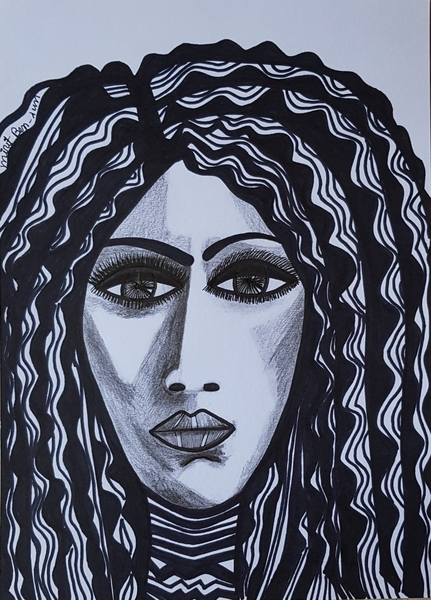 Israeli woman artist drawings