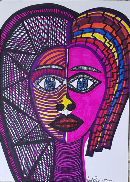 female art israel paintings mirit ben-nun