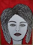 women portrait israel female artist mirit ben nun