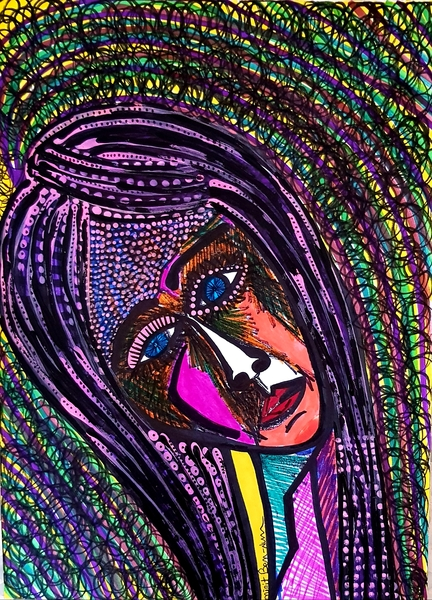 jewish woman portrait painter mirit ben-nun