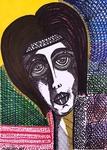 Figurative portrait jewish israeli female artist