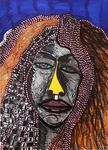 Expressive art israeli female artist