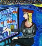 israeli painting modern art mirit ben nun